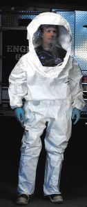 Level B Tychem Encapsulated Suit