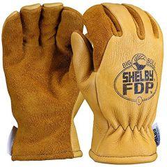 Elk Hide Gauntlet Gloves