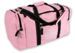 Pink Turnout Gear Bag w/Shoulder Strap