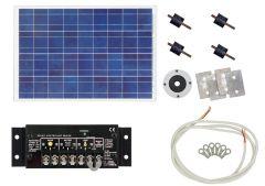 Kussmaul™ Solar Power Charging System